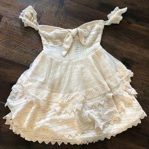 House of Harlow x revolve crotchet dress